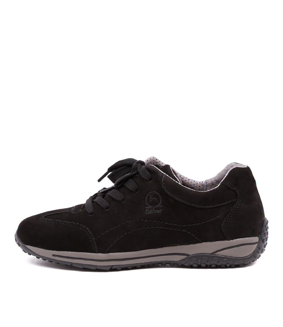 Gabor Larks Schwarz Sneakers