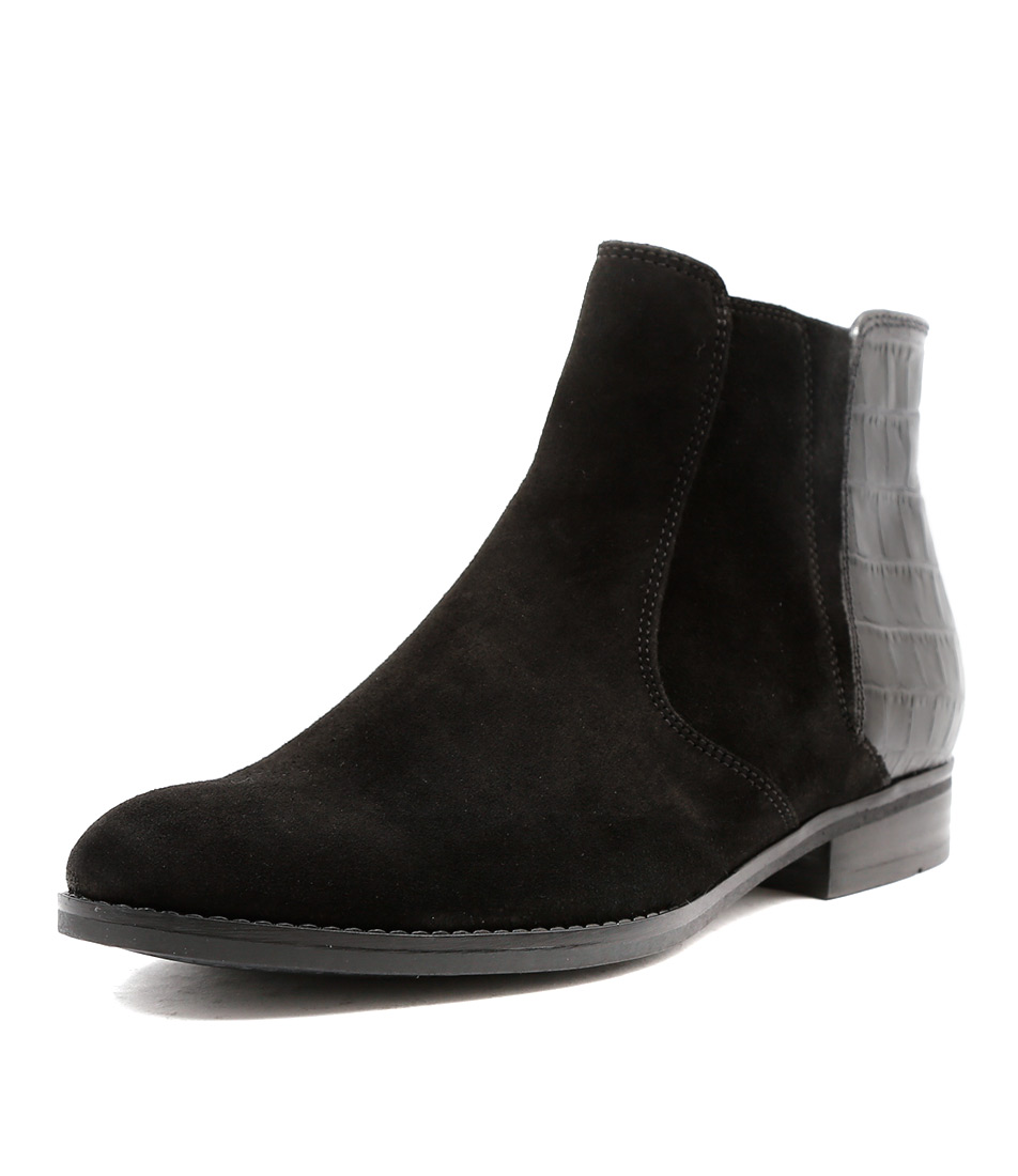 new gabor lewes schwarz womens shoes casual boots ankle ebay. Black Bedroom Furniture Sets. Home Design Ideas