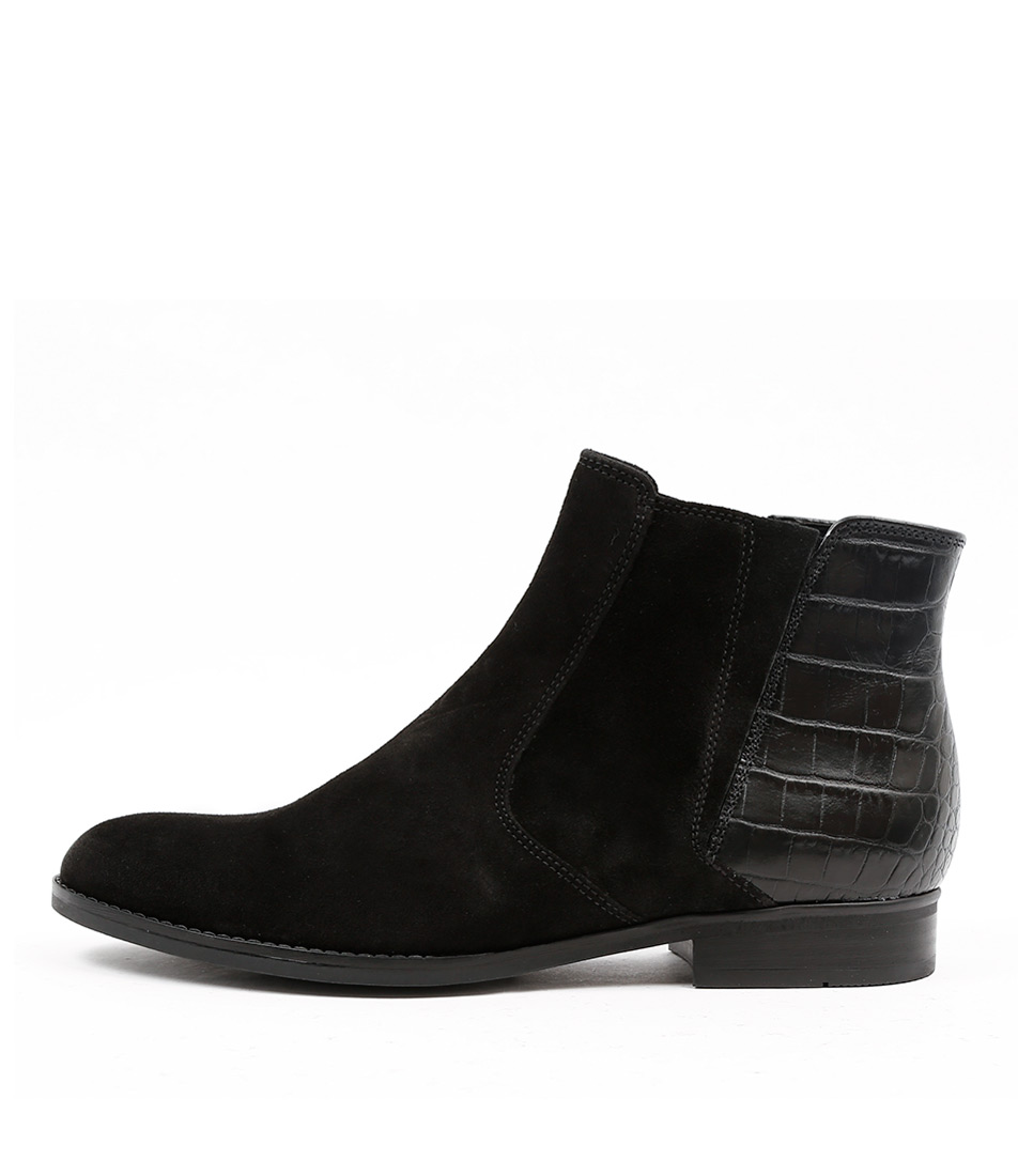 Gabor Lewes Schwarz Ankle Boots