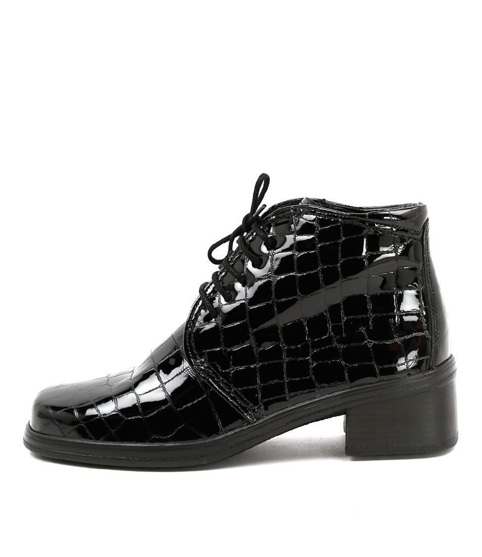 Gabor Minnet Schwarz Boots