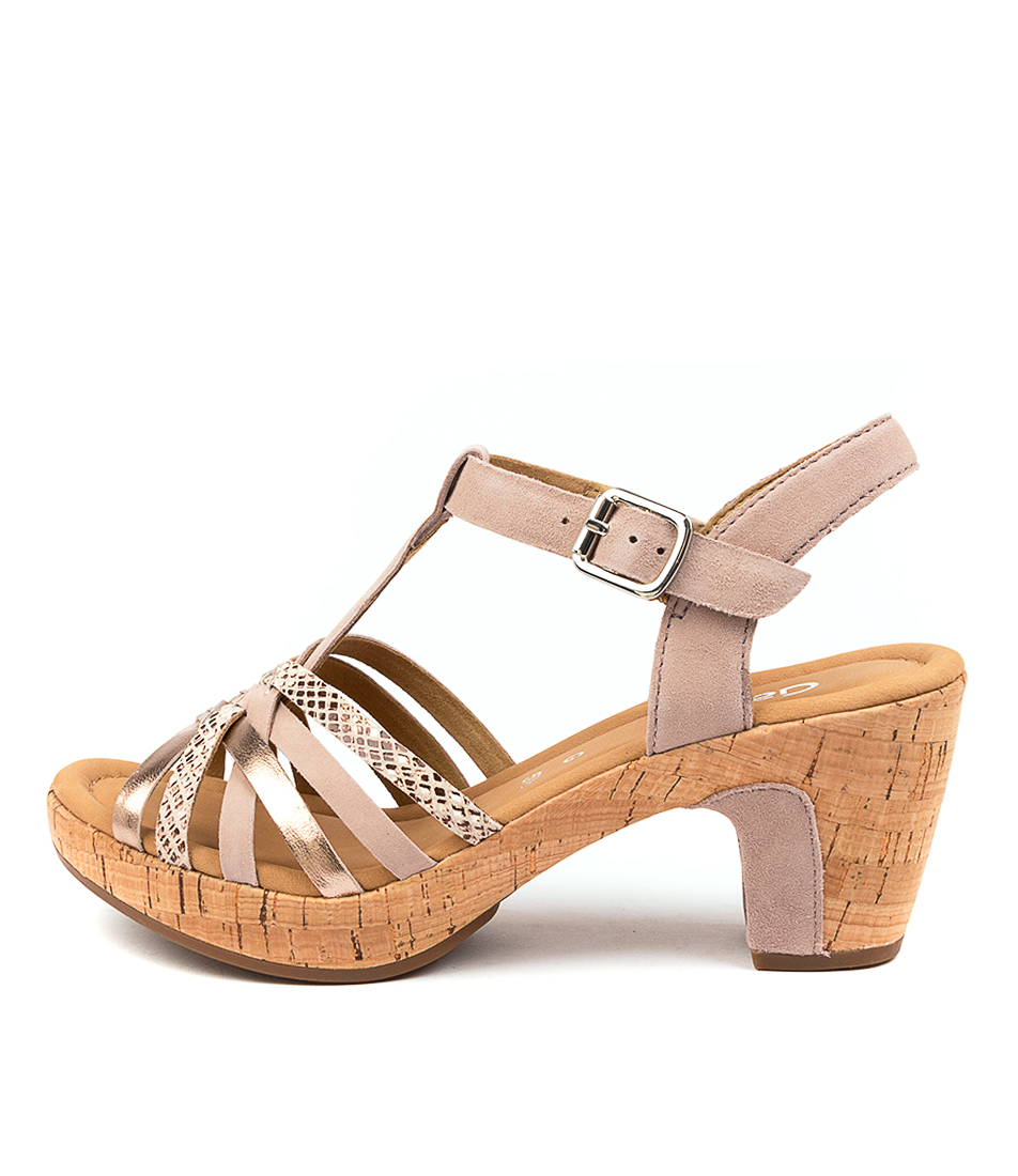 Buy Gabor Ryia Rosa Casual Heeled Sandals online with free shipping