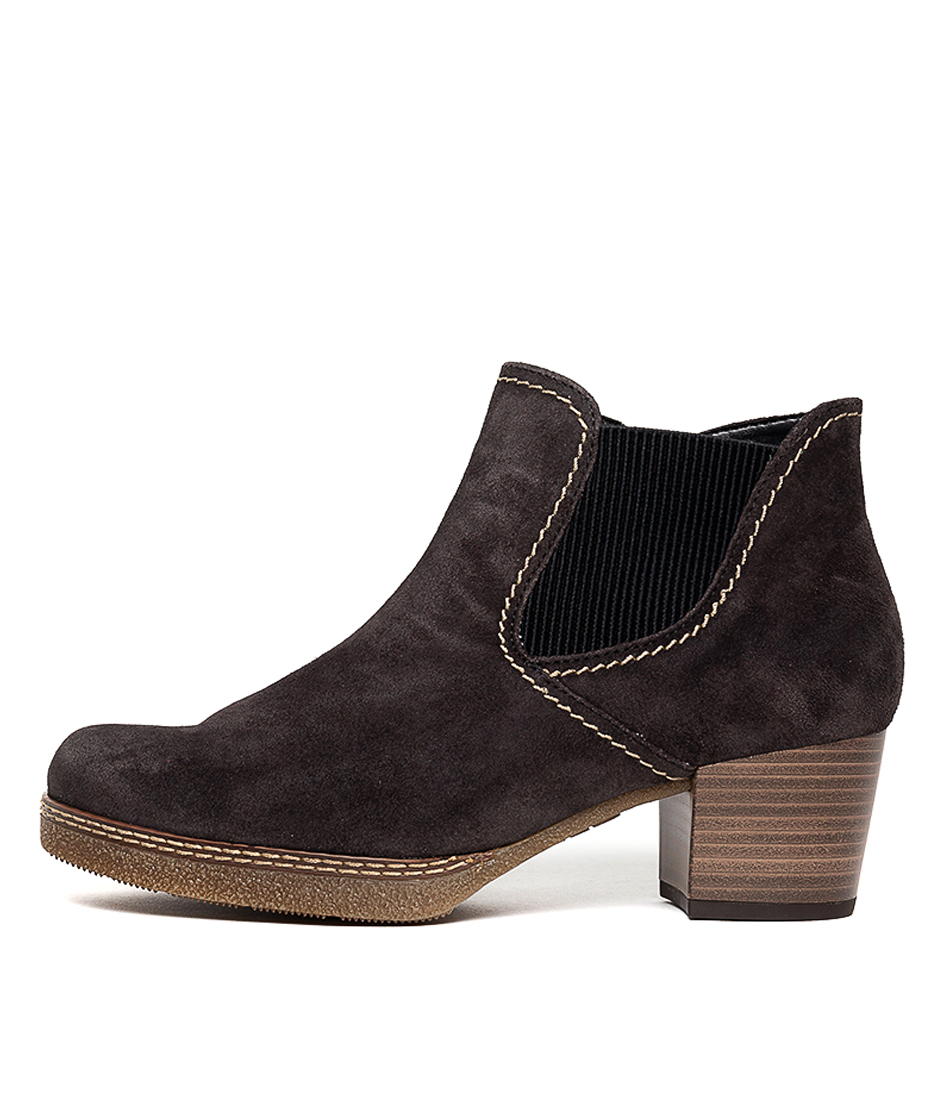 Buy Gabor Krushy Dark Grey Ankle Boots online with free shipping