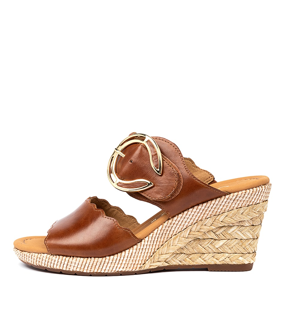 Buy Gabor Taleb Ga Peanut Casual Heeled Sandals online with free shipping
