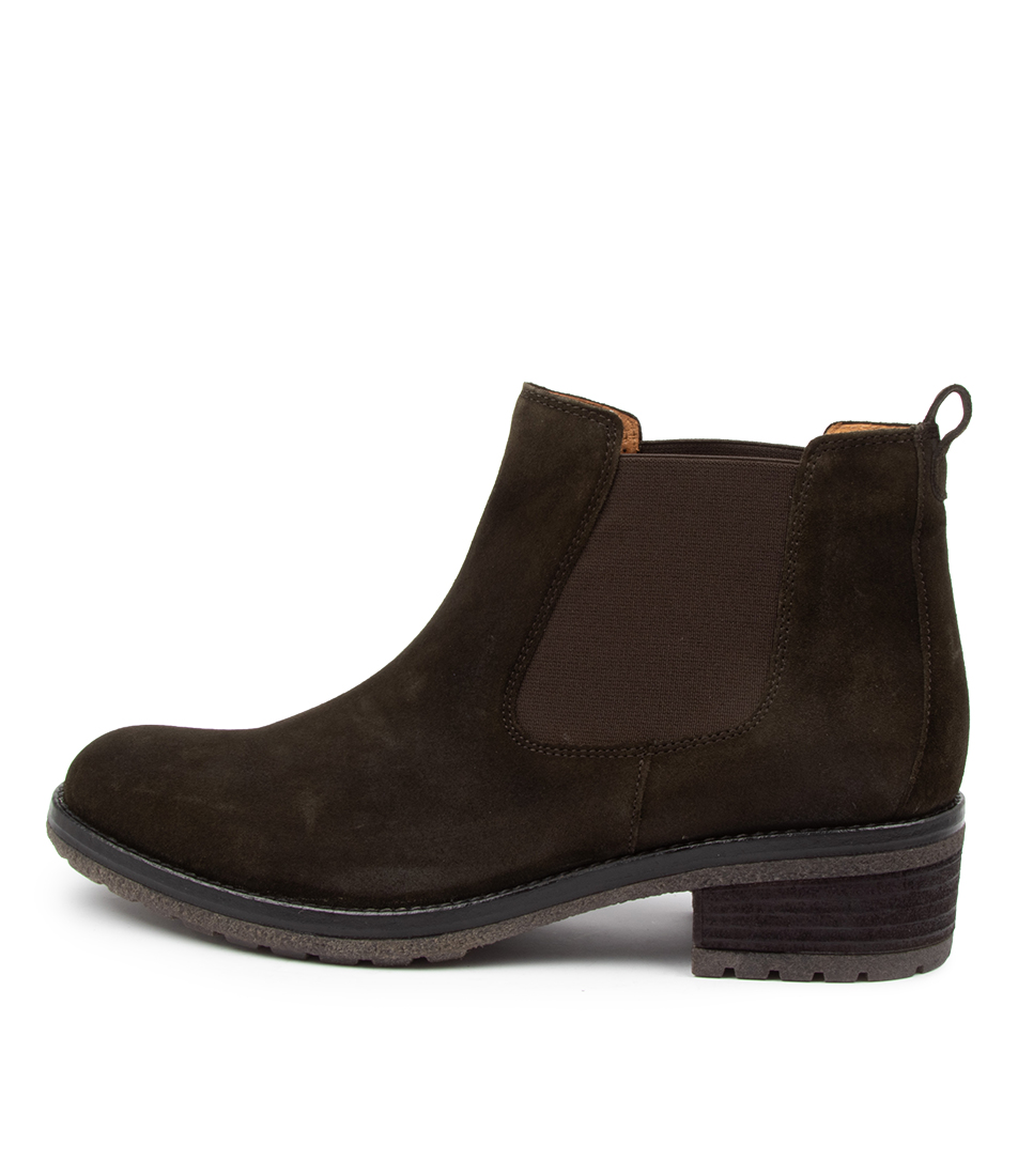 Buy Gabor Matilda Ga Bottle Green Ankle Boots online with free shipping