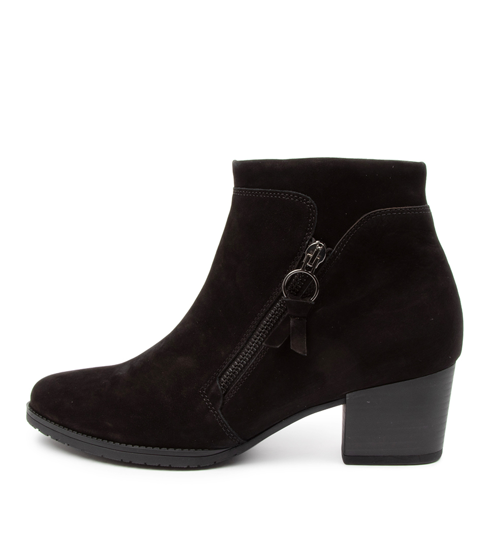 Buy Gabor Layla Ga Schwarz Ankle Boots online with free shipping