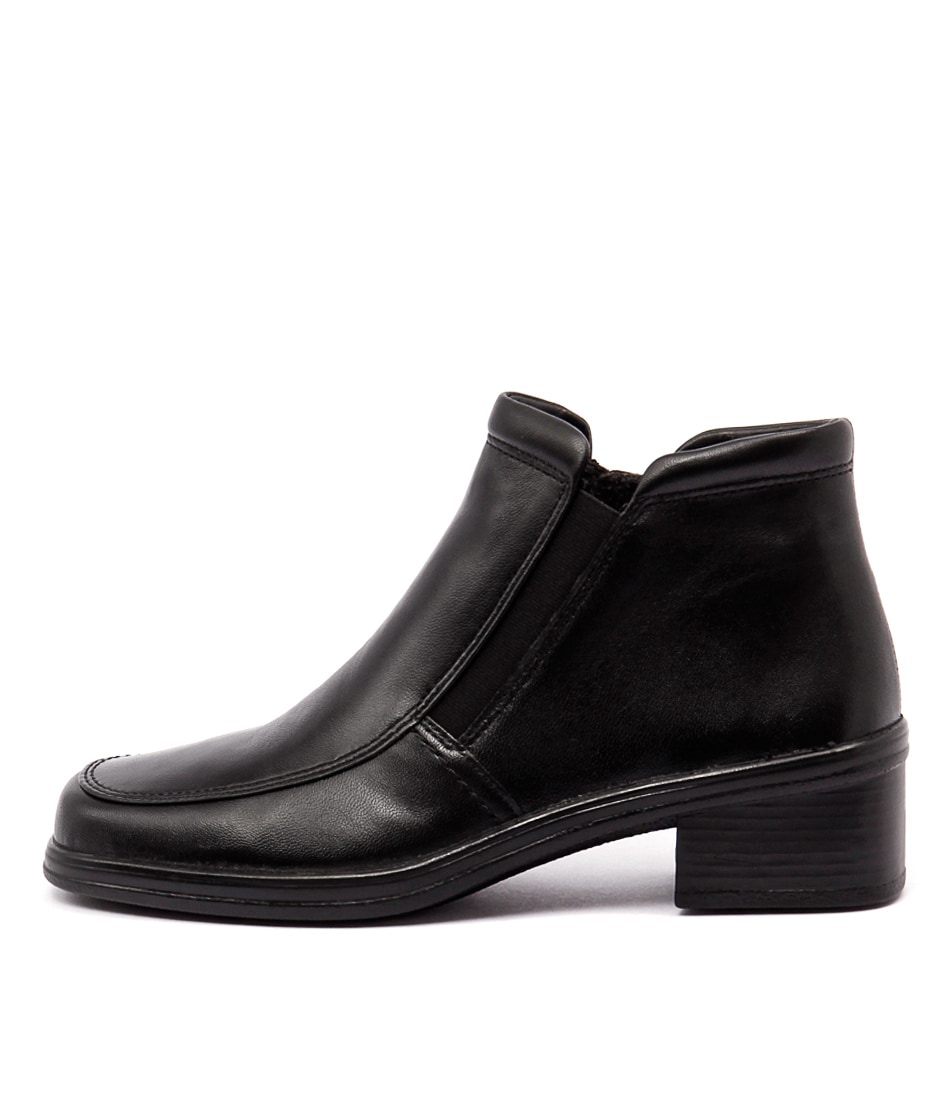Gabor Marlene Schwarz Casual Ankle Boots