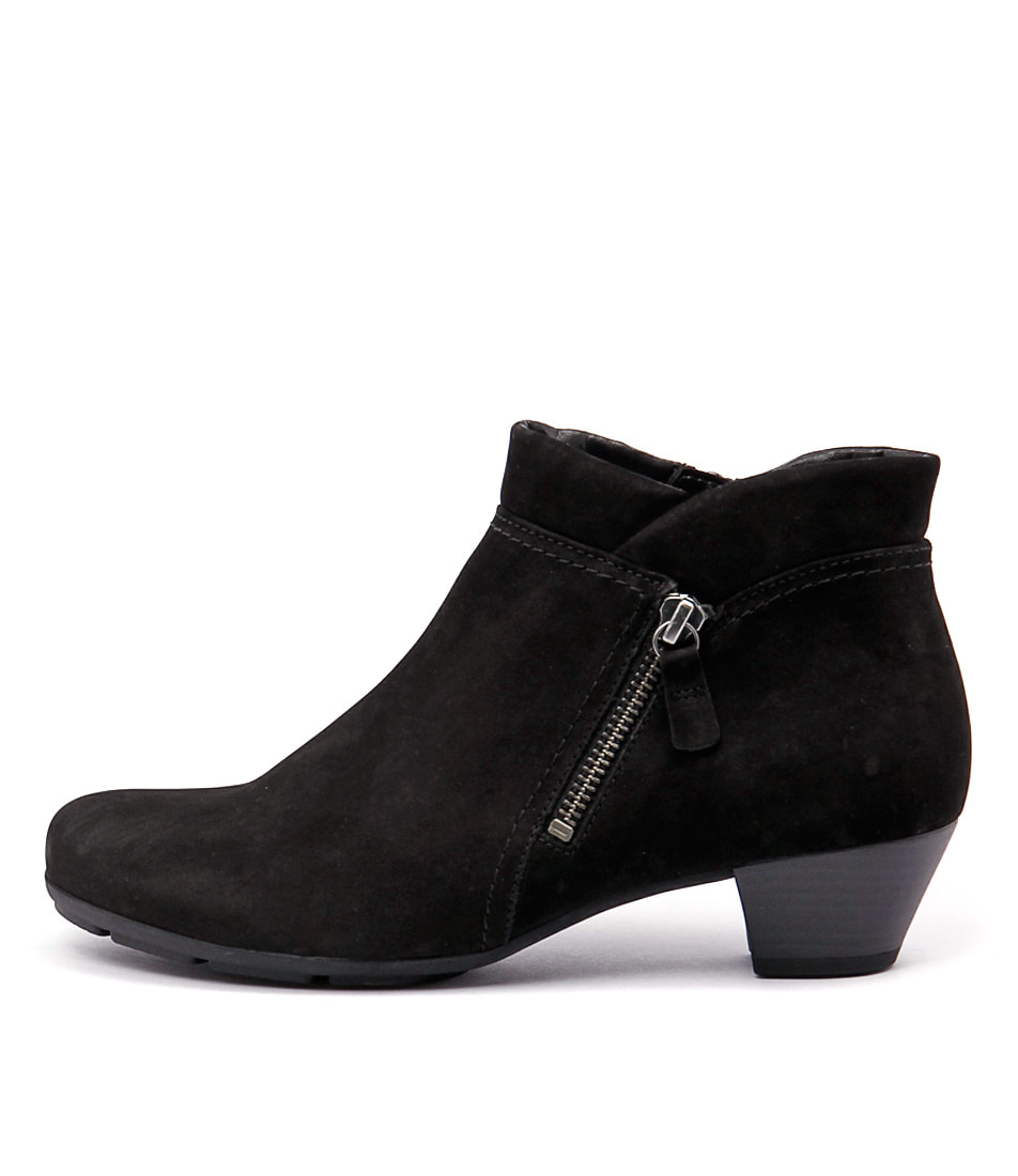 Gabor Ondine Schwarz Casual Ankle Boots