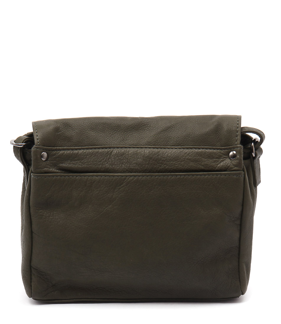 Gabee Jillian Gg Olive Cross Body Bags