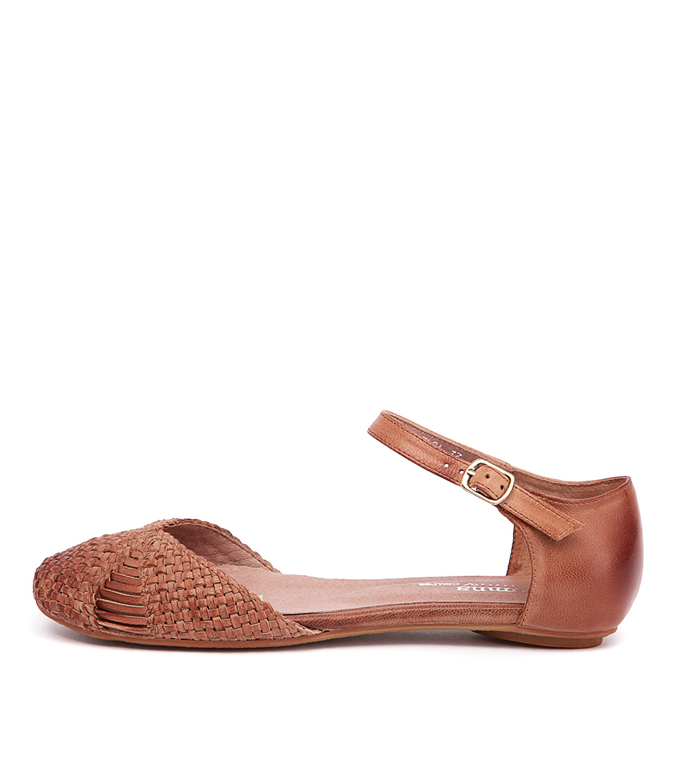 Gamins Elsa Tan Casual Flat Shoes