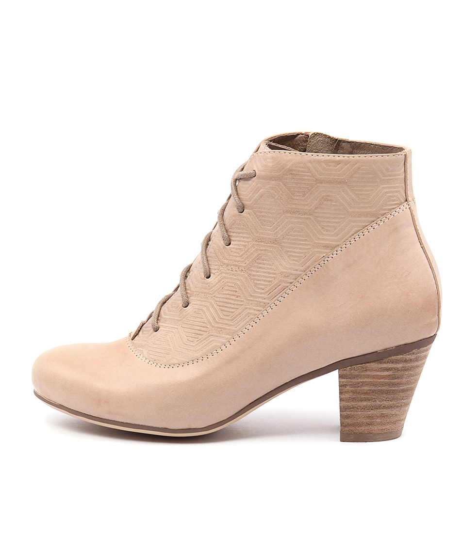 Gamins Hamlin Beige Casual Ankle Boots