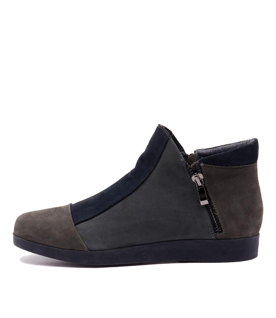 Gamins Renew Dk Grey Navy St Shoes