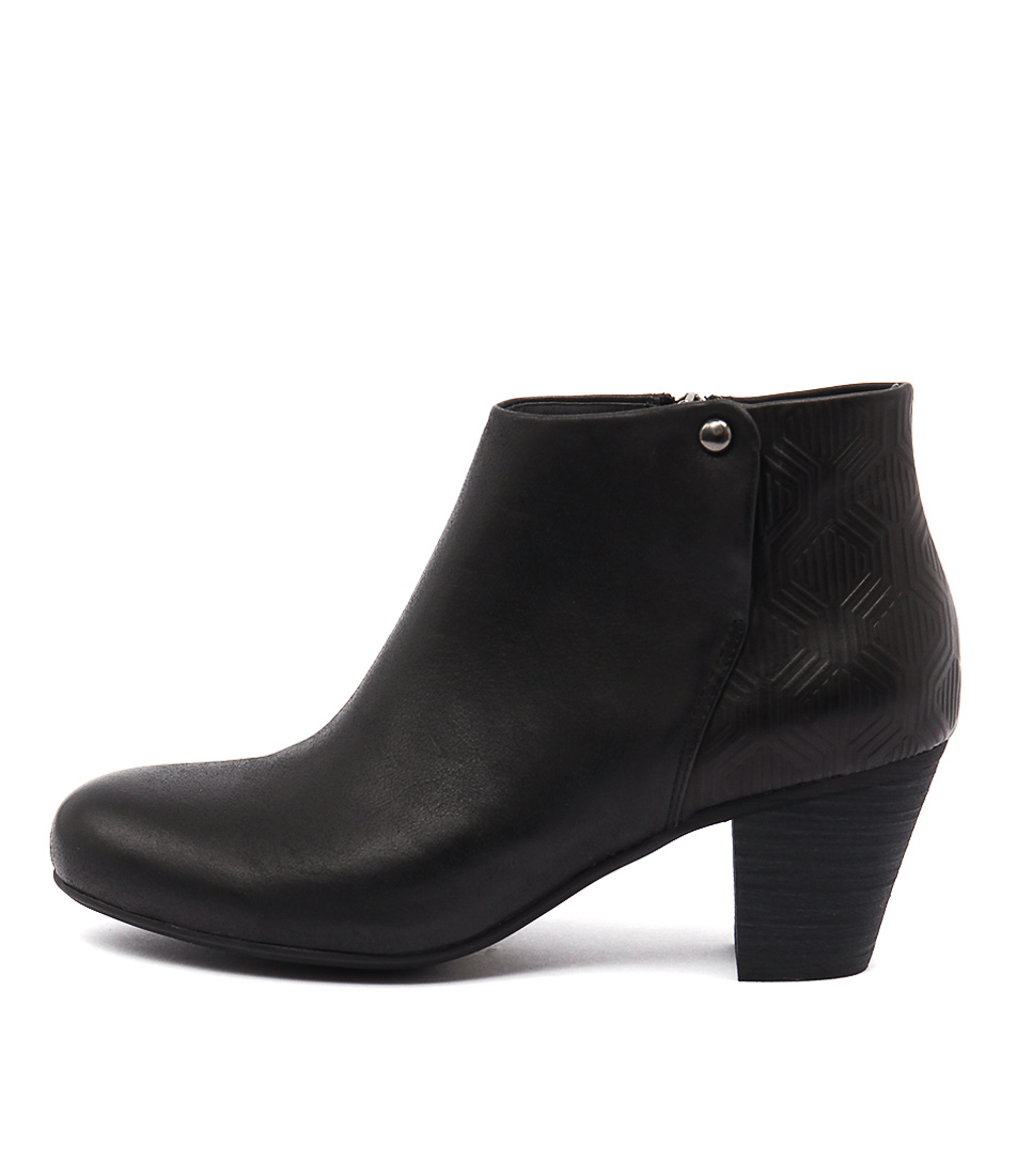 Gamins Hallow Black Boots