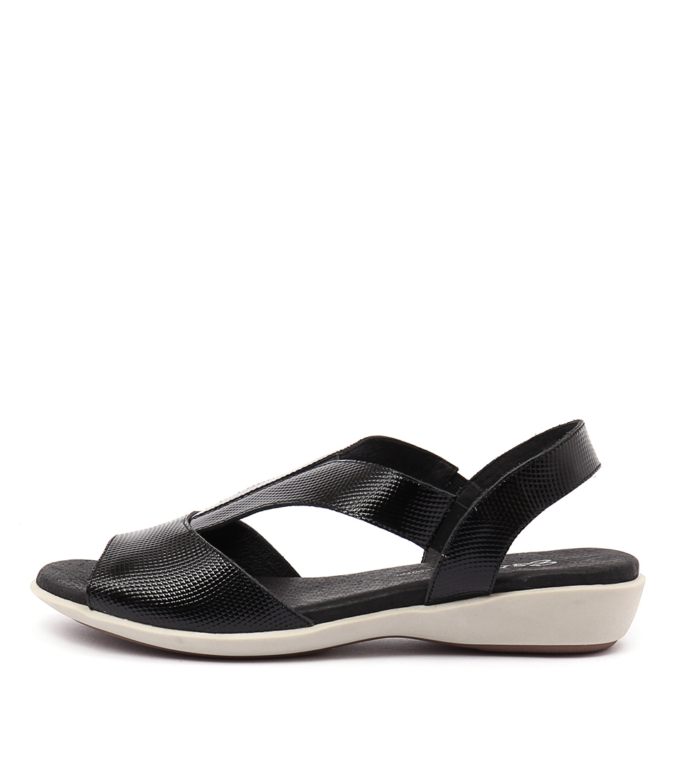 Gamins Babich Black Sandals