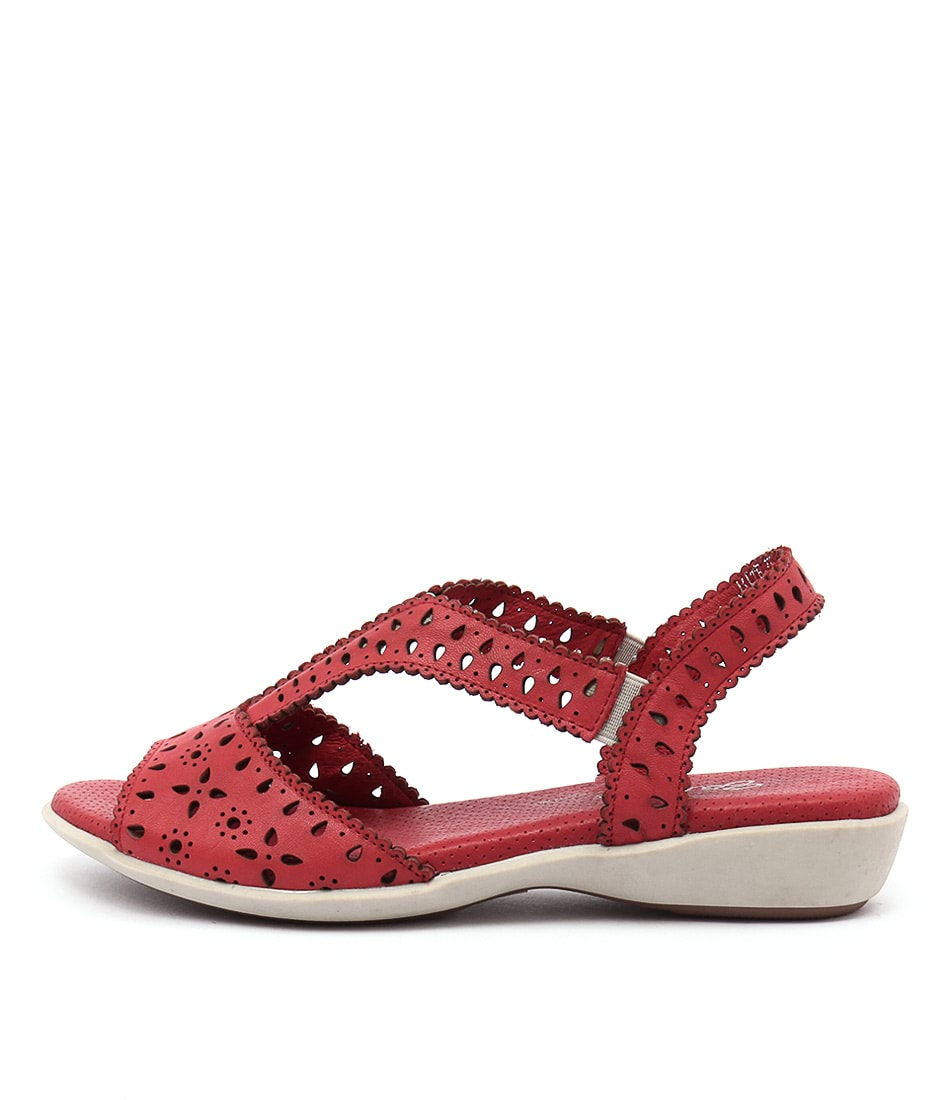Gamins Bite Red Sandals
