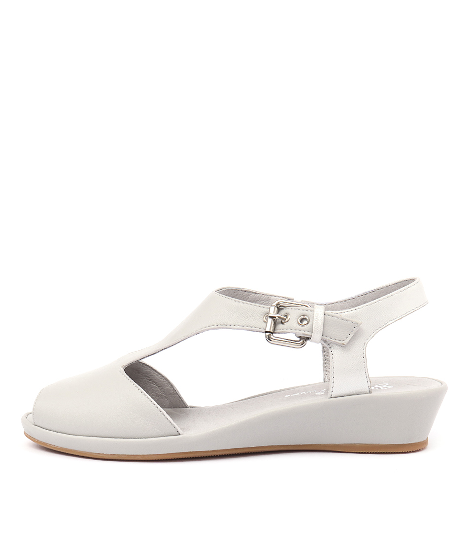 Gamins Dashika Misty Silver Dust Casual Flat Sandals