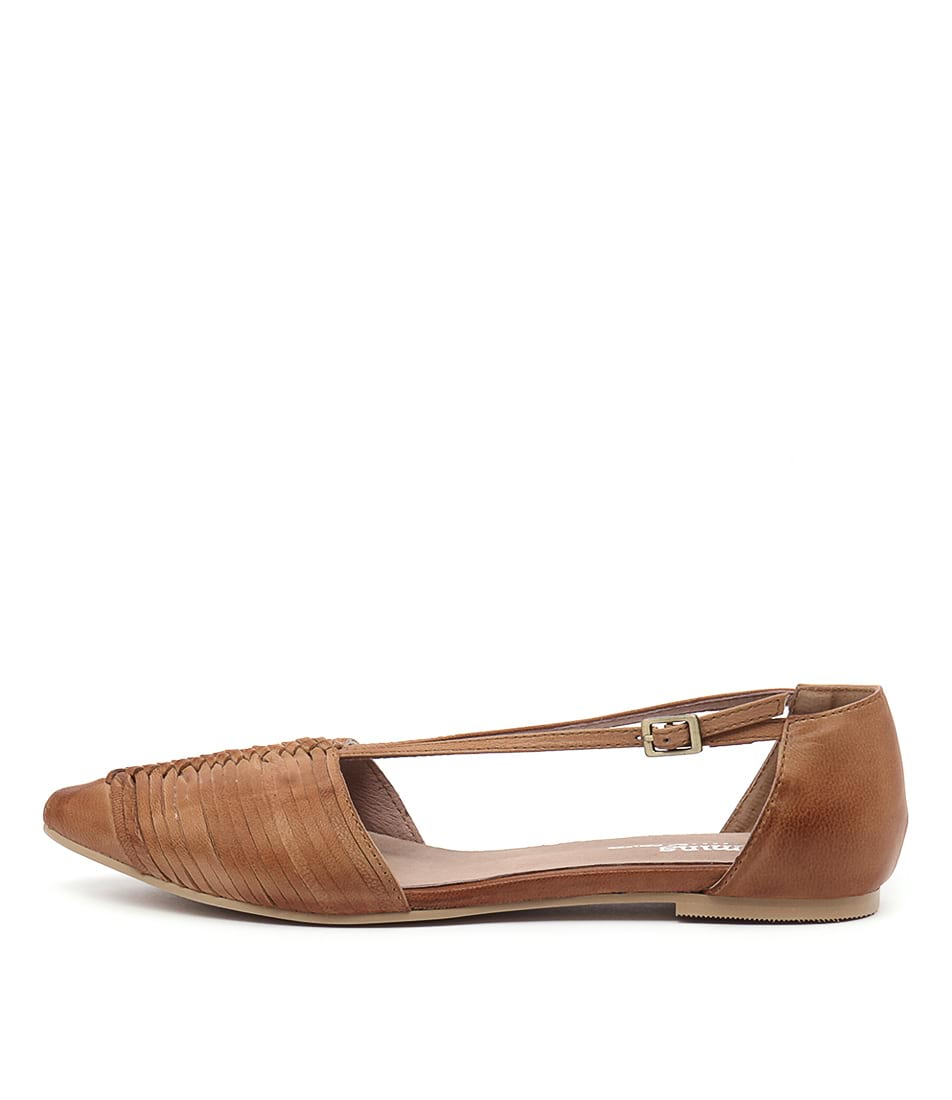 Gamins Hilma Dark Beige Flat Shoes