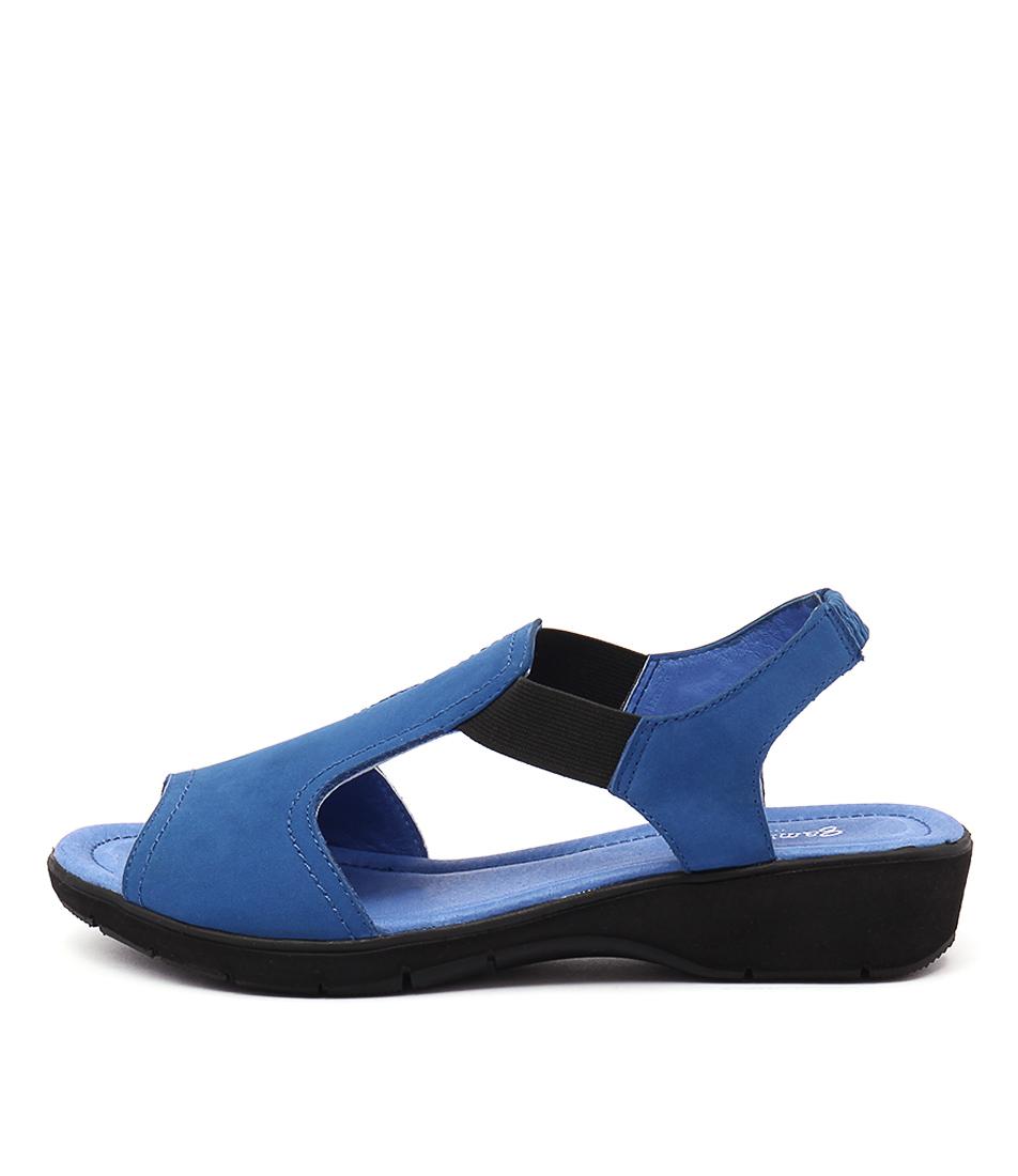 Gamins Kapok Cobalt Casual Flat Sandals