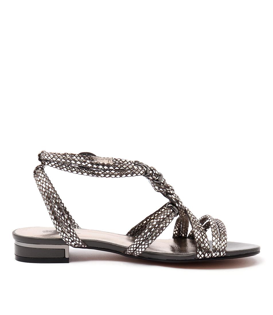 New Gamins Naurite Pewter Metallic Womens Shoes Dress