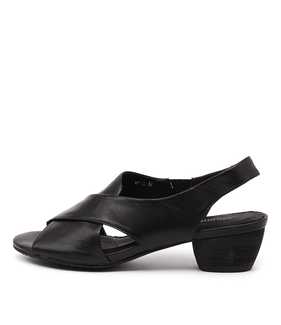 Gamins Nanca Black Sandals