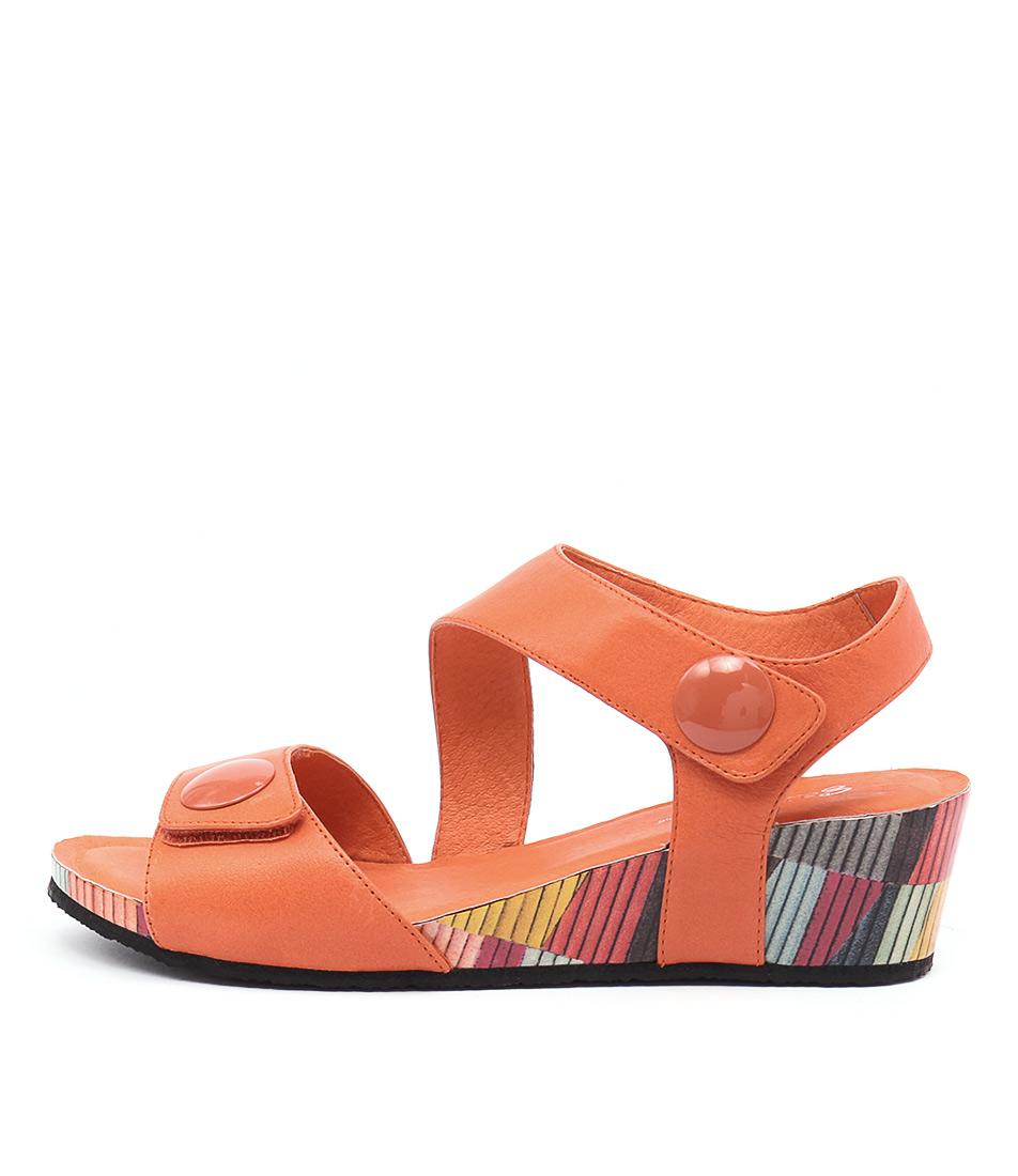 Gamins Lala Orange Orange Sandals