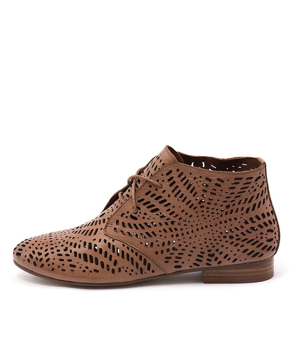 Gamins Alace Dk Tan Boots