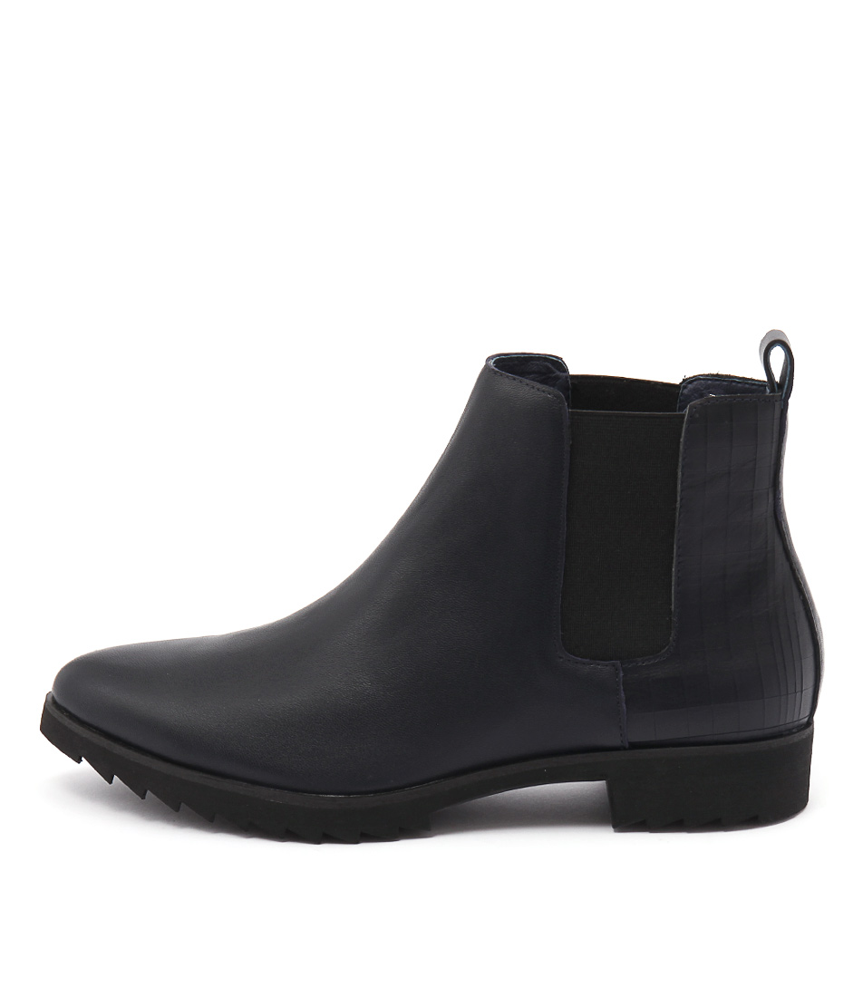 Gamins Babette Navy Boots