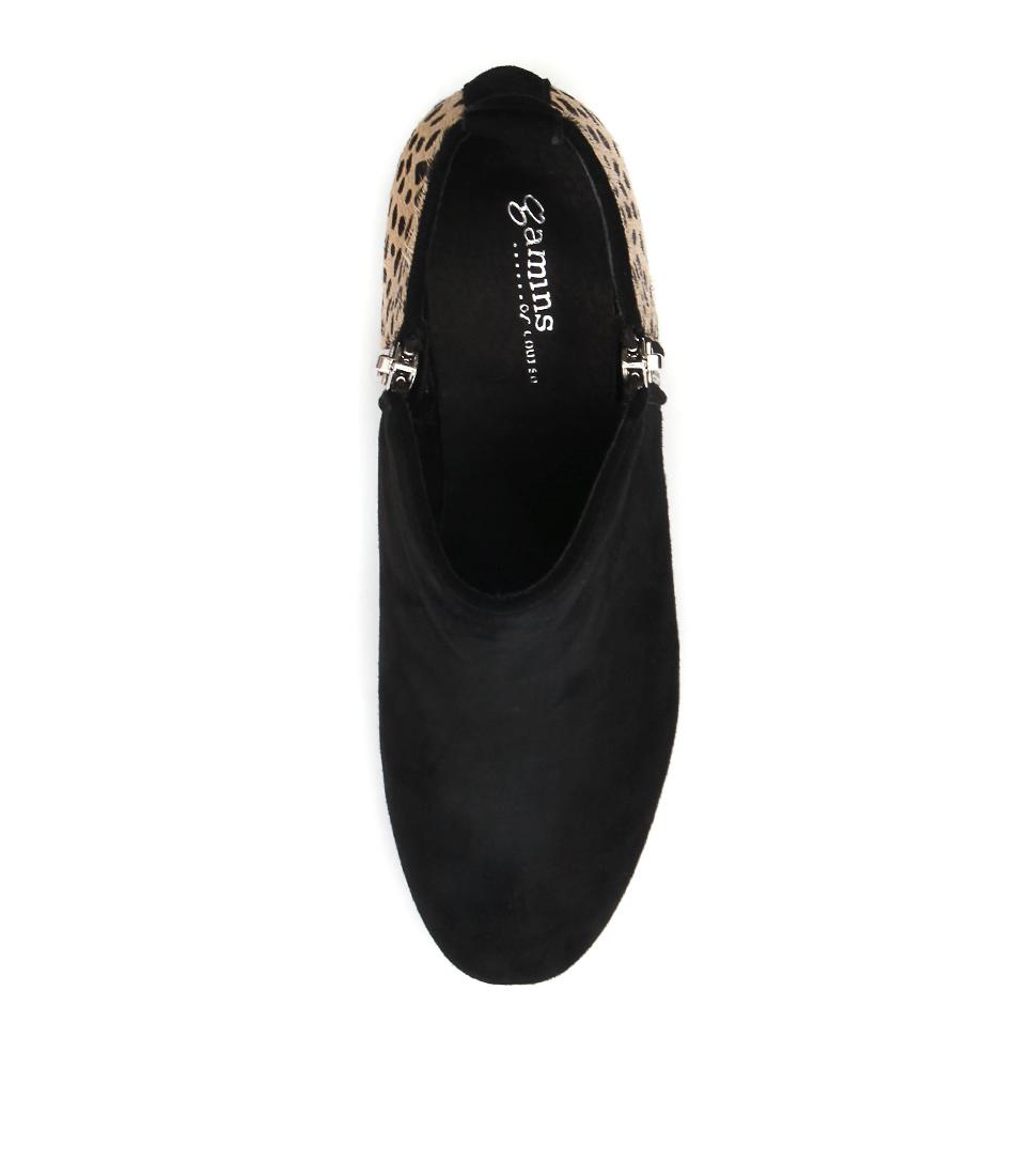 Black Shoes Women Gamins