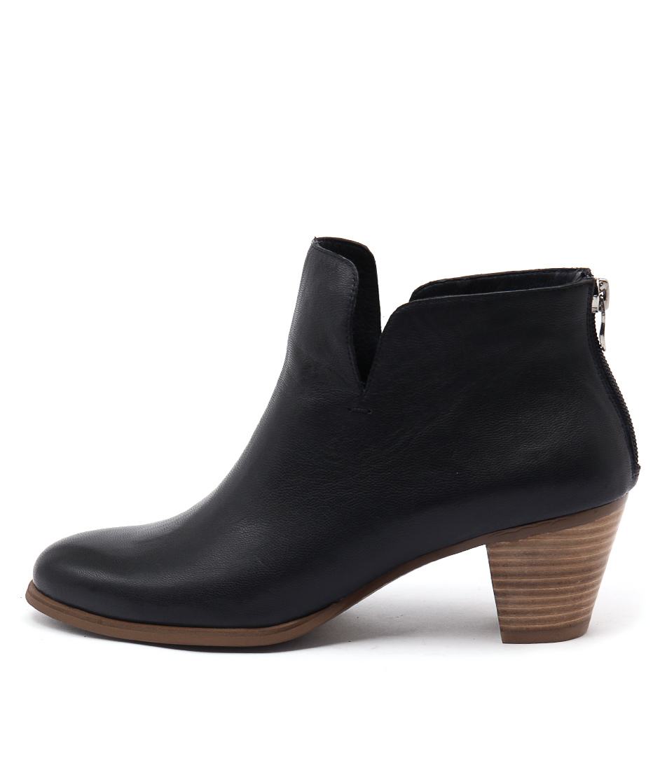 Gamins Imper Navy Ankle Boots