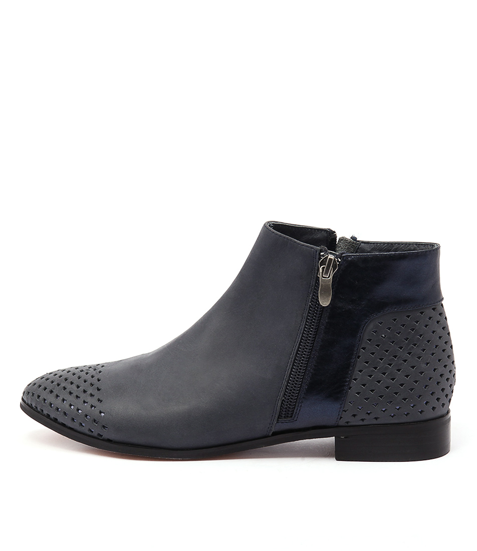 Gamins Jetset Navy Navy Ankle Boots