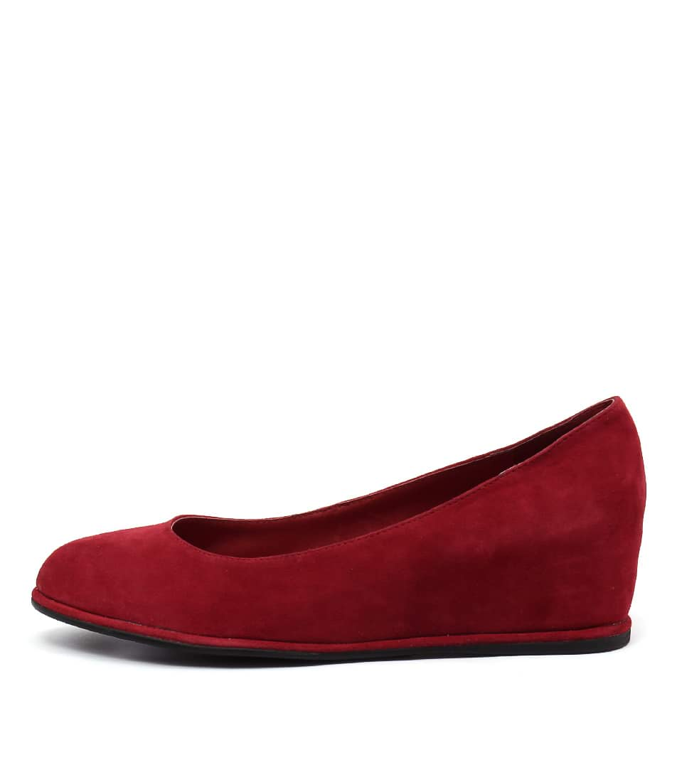 Gamins Pommel Red Shoes