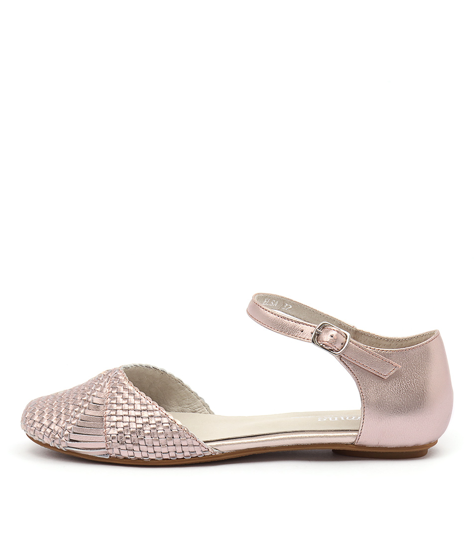 Gamins Elsa Rose Gold Casual Flat Shoes