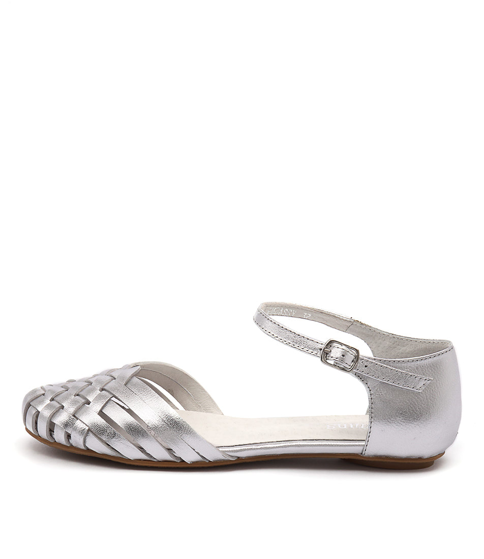 Gamins Embassy Silver Sandals
