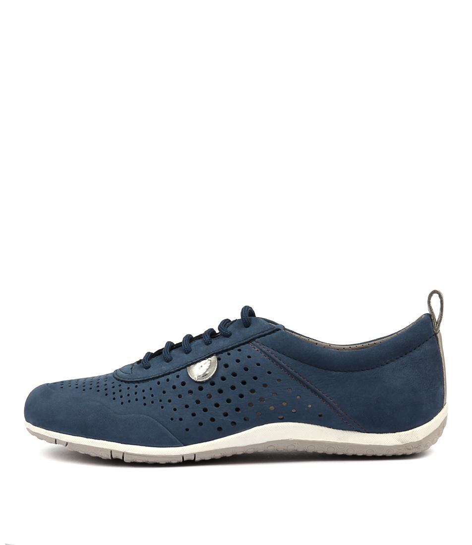 Geox Vega B D8209 Bltc4008 Denim Sneakers