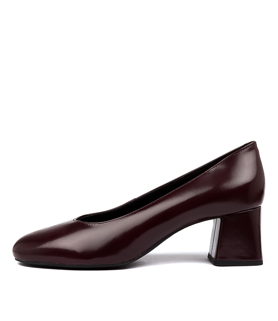 Buy Geox D Seylise M A Burgundy High Heels online with free shipping