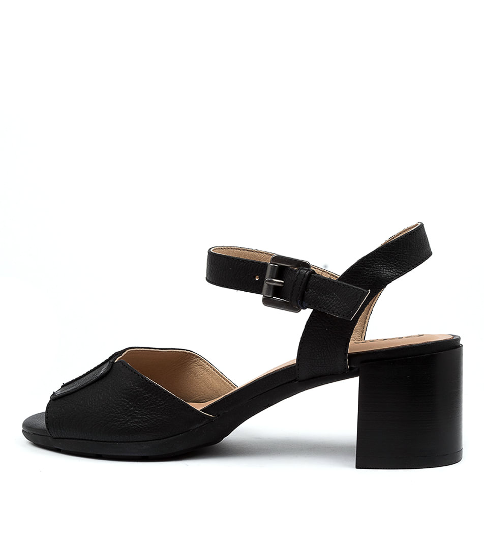Buy Geox D Marykarmen M S A Black Heeled Sandals online with free shipping