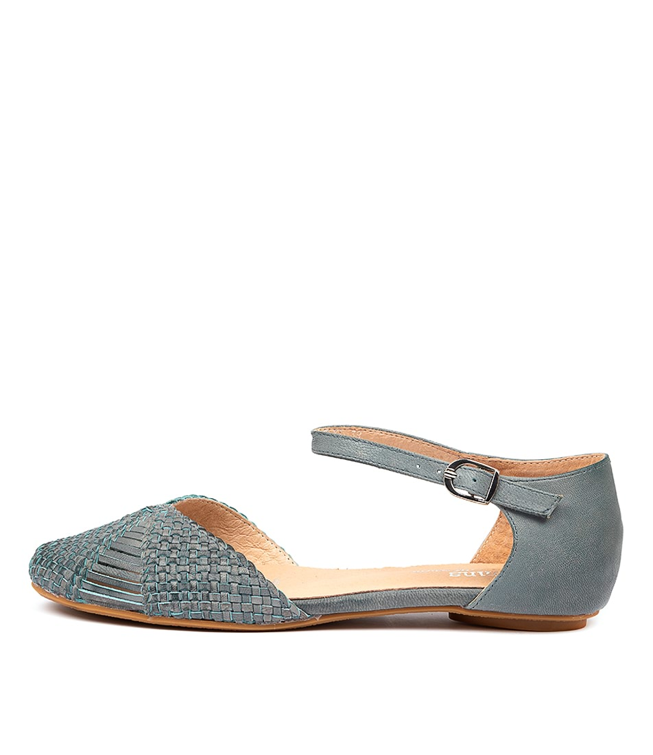 Buy Gamins Elsa Blue Flats online with free shipping