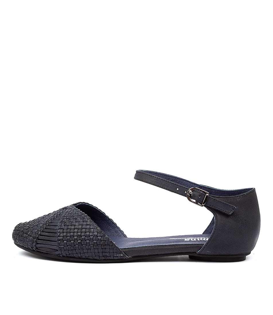 Buy Gamins Elsa Navy Flats online with free shipping