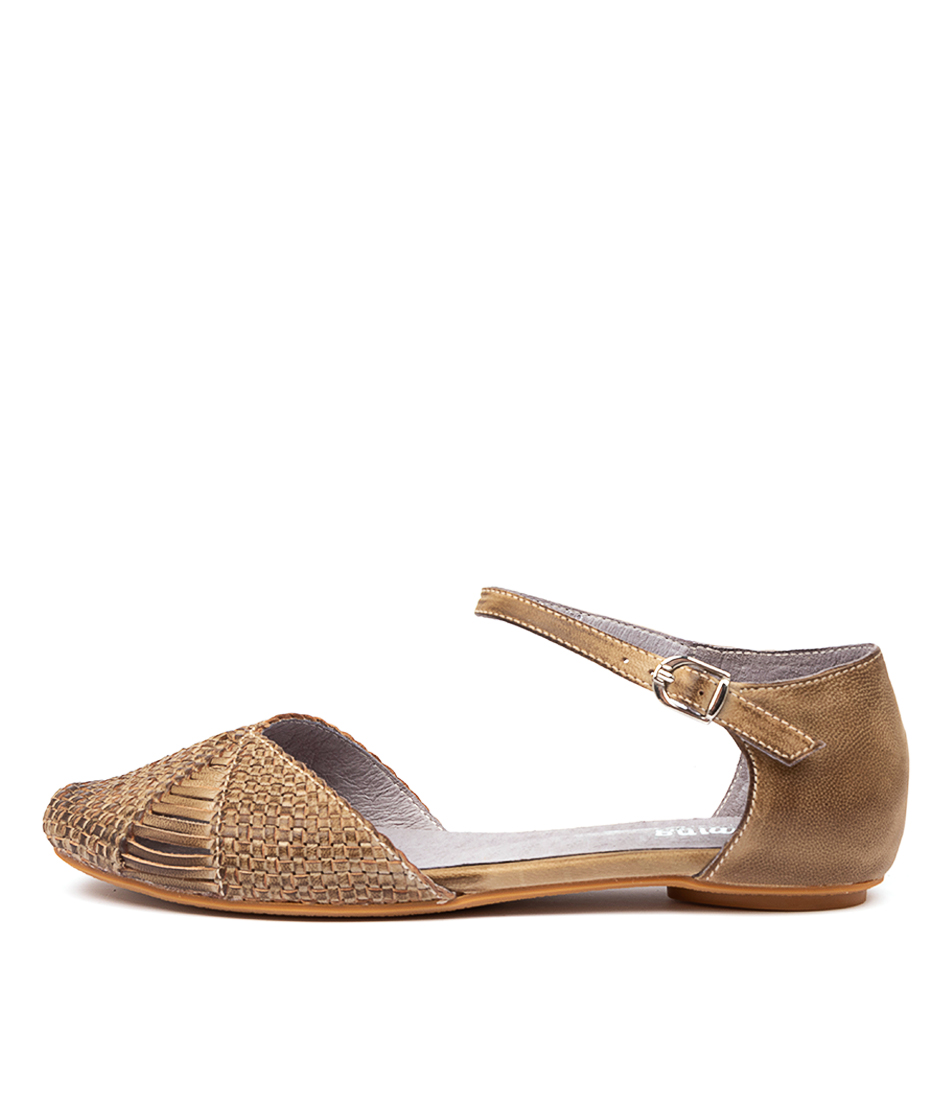 Buy Gamins Elsa Khaki Flats online with free shipping