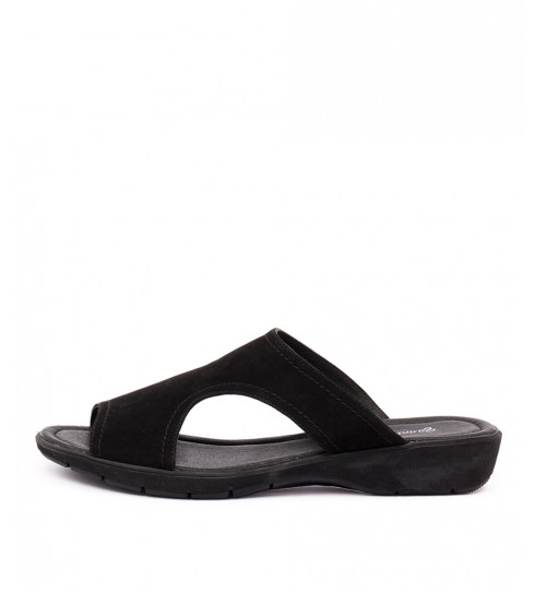 Gamins Kashant Black Sandals