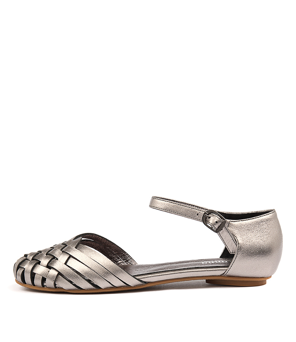 Gamins Embassy Pewter Casual Flat Sandals