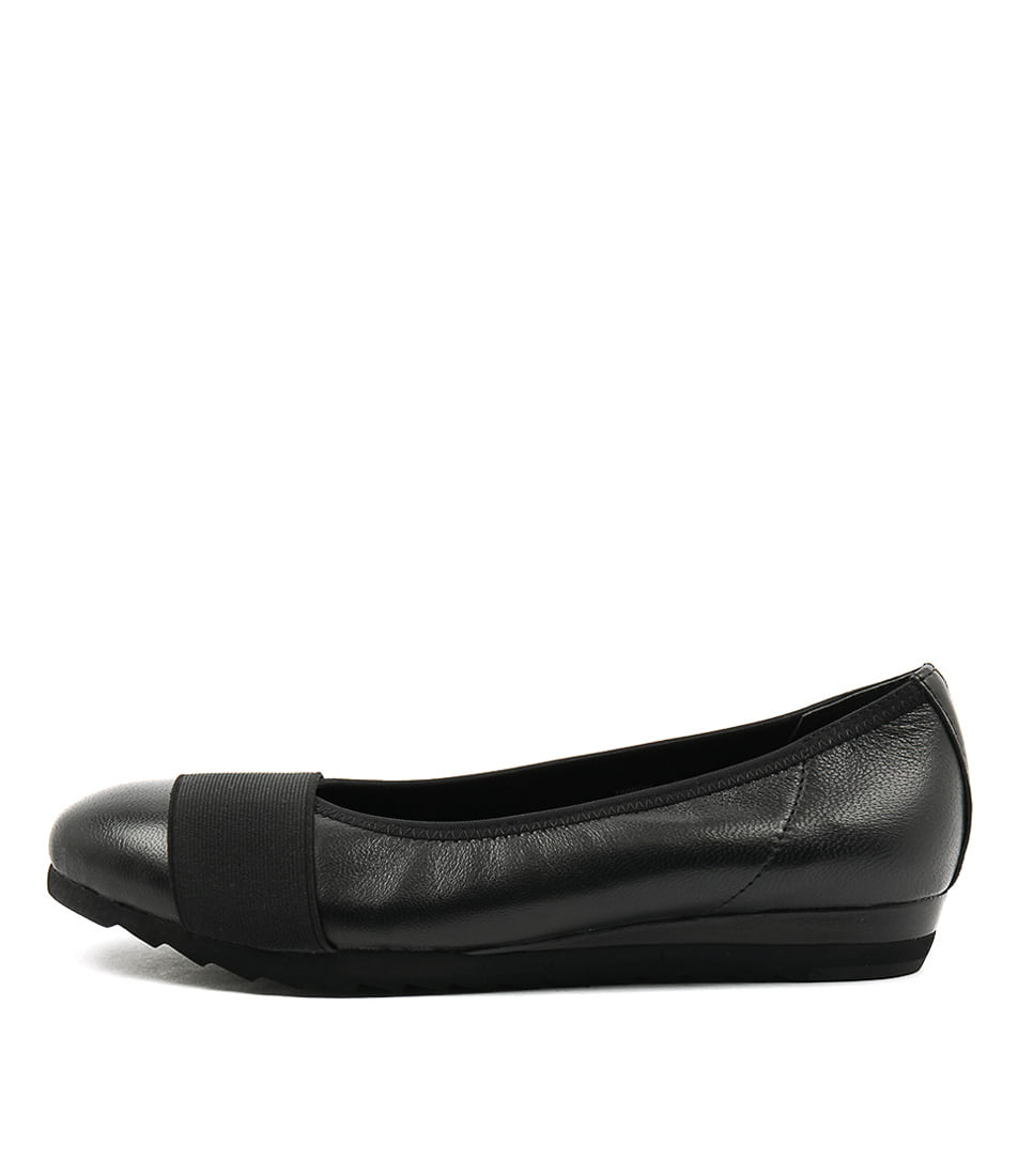 Gamins Farrow Black Black Comfort Flat Shoes