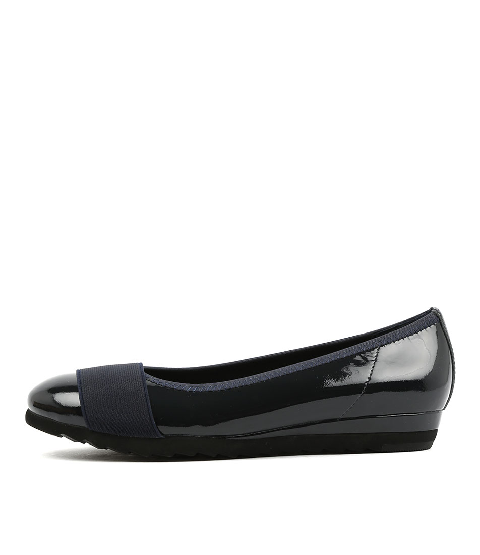 Gamins Farrow Navy Navy Comfort Flat Shoes