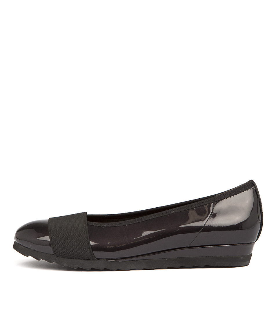 Gamins Farrow Grey Black Flats