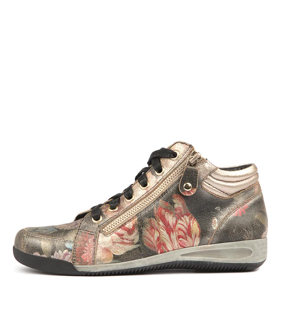 Gamins Hiho Vintage Floral Sneakers