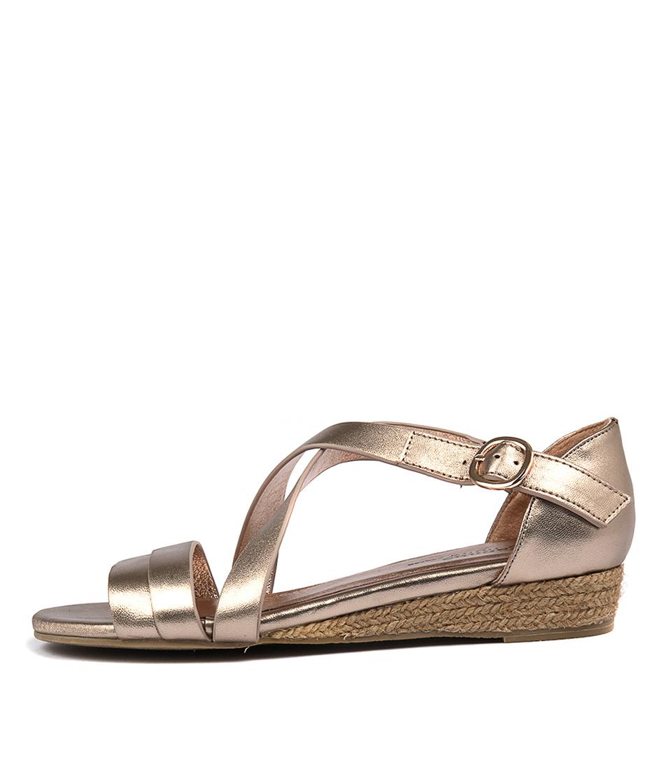 Gamins Candes Rose Gold Sandals