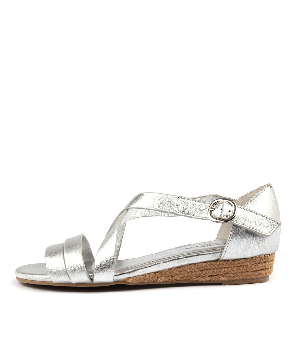 buy Gamins Candes Silver Sandals shop Gamins Sandals online