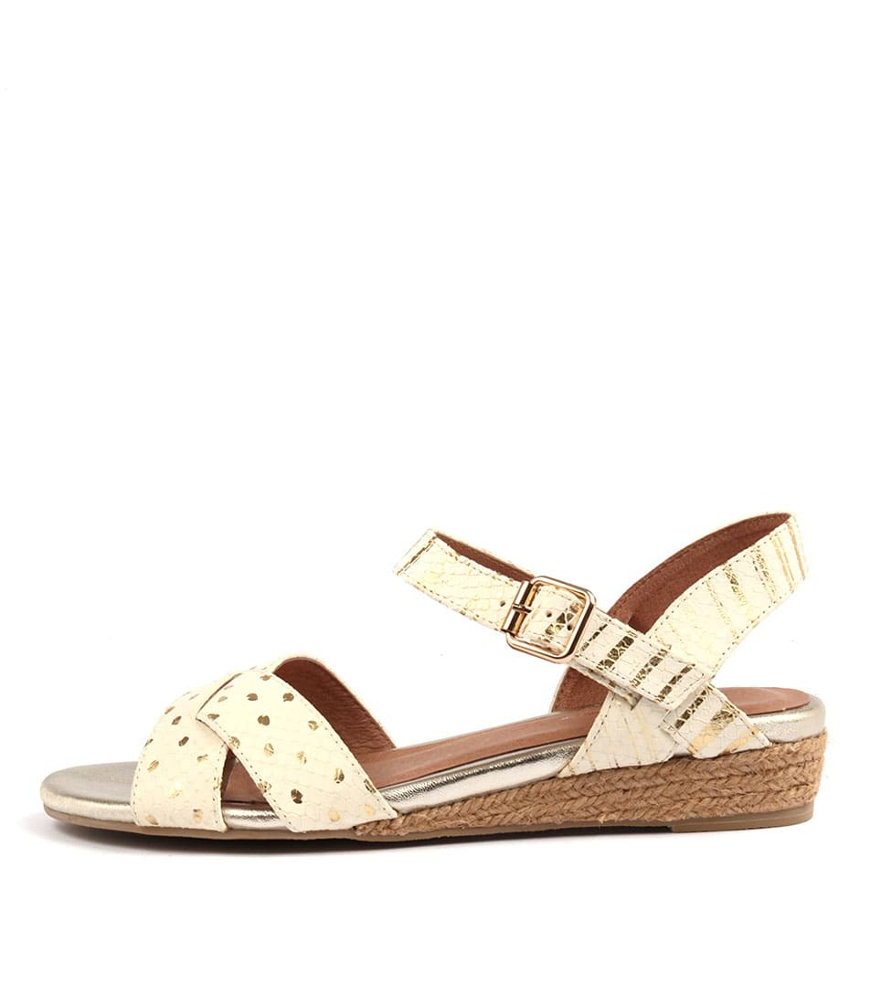 Gamins Cherina Ice & Gold Multi Sandals