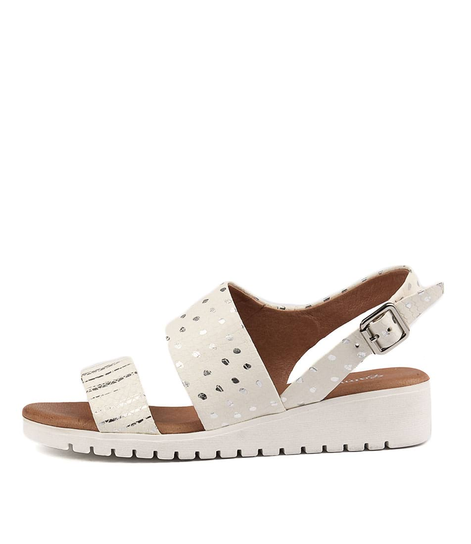 Gamins Falling Ice & Silver Mult Sandals