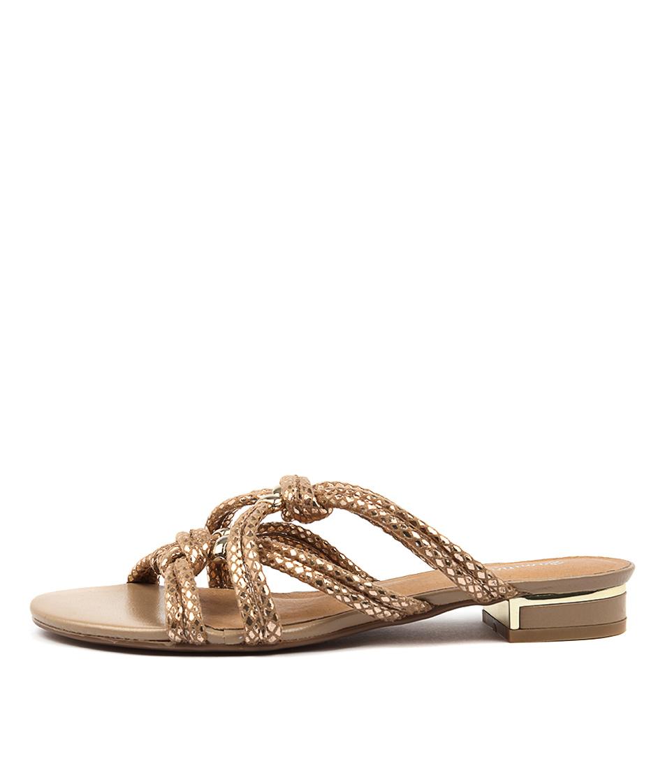 Gamins Nerissa Old Gold Sandals