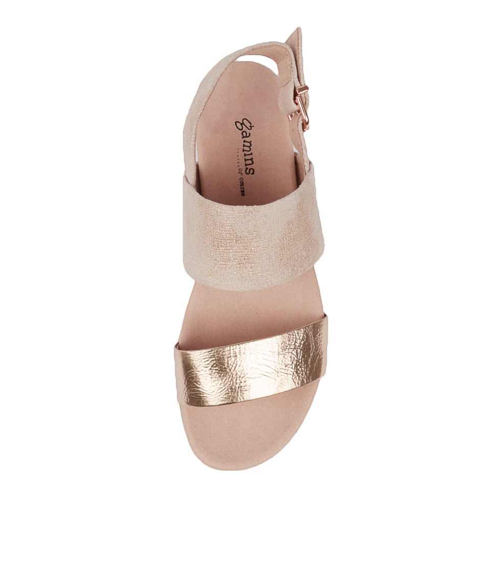 New New New Gamins Beverly Womens shoes Sandals Sandals Flat 1774f8